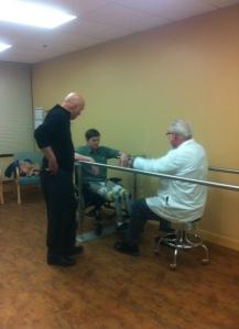 leg checkups